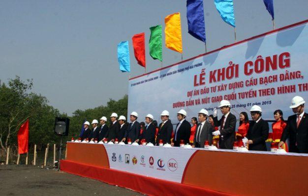 Dự án cầu Bạch Đằng Hải Phòng - Quảng Ninh